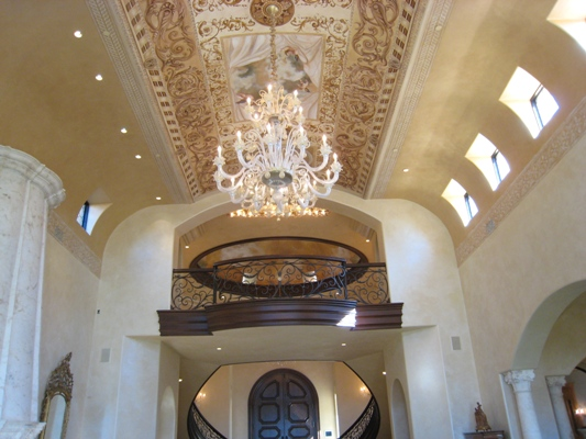 Family Room - Partial View of Ceiling